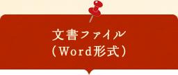 文書ファイル (Word形式)