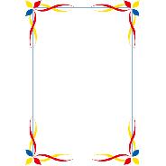 三色飾り枠1